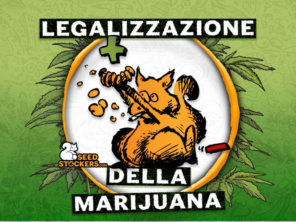 legalizzazione della marijuana