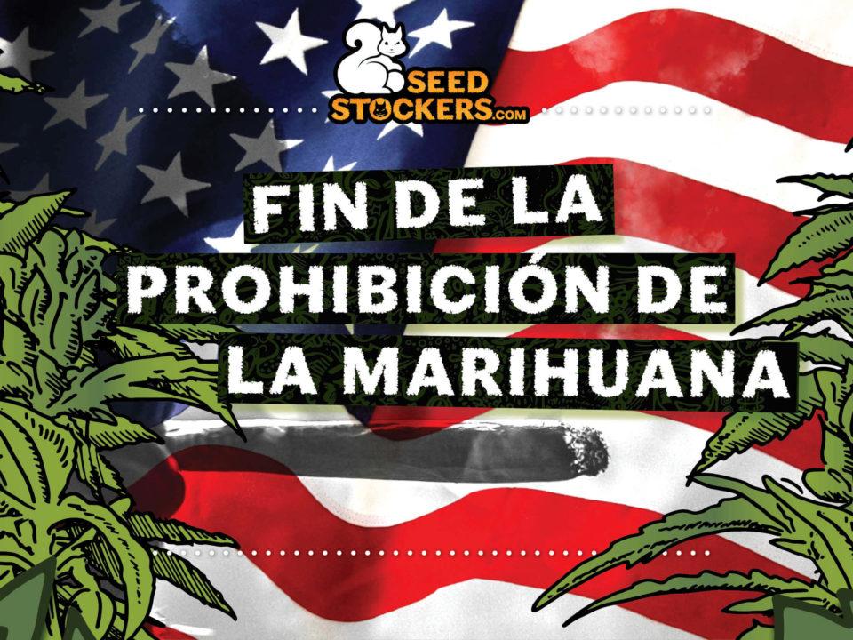 fin de la prohibición de la marihuana